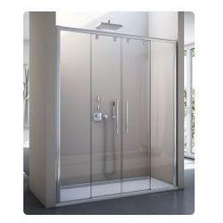 Drzwi do wnęki SanSwiss Pur light S PLS4 rozsuwane150 cm, połysk, szkło przeźroczyste PLS41505007