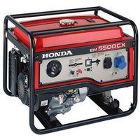 HONDA Agregat prądotwórczy EM 5500CXS (5,5kW 97,6kg 97dB(A)) - RATY 0%