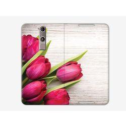 Flex Book Fantastic - ZTE Axon Mini - pokrowiec na telefon - tulipany