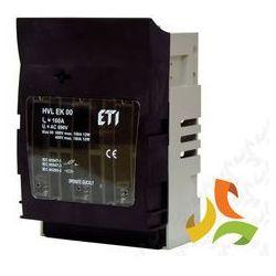 Rozłącznik skrzynkowy HVL EK 00 160A 3P M8 001701250 ETI