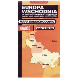 Europa Wschodnia. Mapa samochodowa