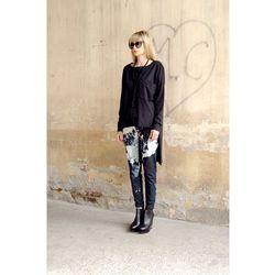 Spodnie Jeans Punk