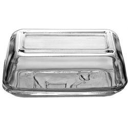 Maselnica szklana z wzorem 17cm x 10,5 cm