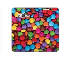 Flex Book Fantastic - Samsung Galaxy Trend 2 Lite - pokrowiec na telefon - cukierki