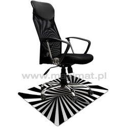Mata ochronna pod fotel na kółkach z nadrukiem 039 - 80x120cm - gr. 1,3mm