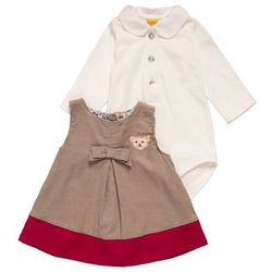 Steiff Collection LOVELY DAY SET Sukienka letnia etherea/brown