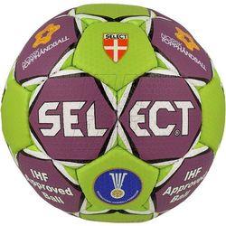 Piłka ręczna SELECT Solera fioletowo-zielona