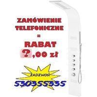 GWARANCJA NAJNIŻSZEJ CENY! | Panel prysznicowy AKOJA z kaskadą - biały o szerokości 25 cm. TRANSPORT GRATIS ! | PROMOCJA! 40,00 zł rabatu przy zamówieniu telefonicznym !