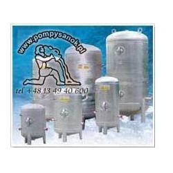 Zbiornik hydroforowy ocynkowany 150L poziomy