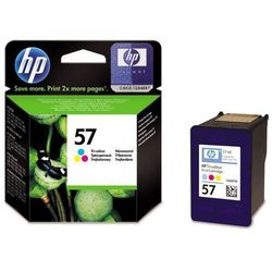 HP oryginalny ink blistr, C6657AE#301, No.57, color, 500s, 17ml, HP DeskJet 450, 5652, 5150, 5850, psc-7150, OJ-6110
