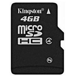 Karta pamięci KINGSTON micro SD 4GB