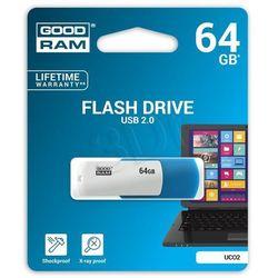 Pendrive GoodRam Goodram Flashdrive Colour 64GB USB 2.0 - UCO2-0640MXR11 Darmowy odbiór w 19 miastach!