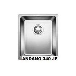 Zlewozmywak Blanco ANDANO 180-IF z korkiem automatycznym, wpuszczany w blat 518308