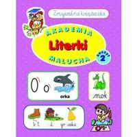 Literki. Zmywalna książeczka. Zeszyt 2. Akademia malucha (opr. broszurowa)