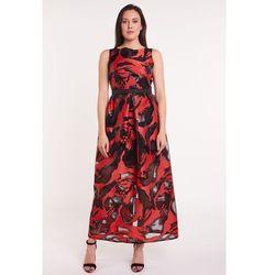 6f2dbb3e8f suknie sukienki czerwona sukienka wieczorowa z gipiura dlugie suknie ...