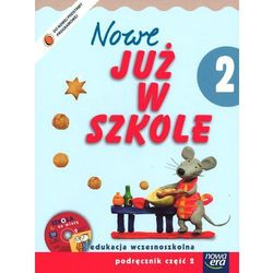 Szkoła na miarę. Nowe już w szkole. Klasa 2. Szkoła podstawowa. Podręcznik cz. 2 (+ CD) (opr. miękka)