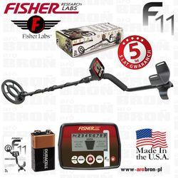 Wykrywacz metali Fisher F11 cewka 7