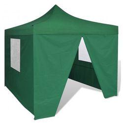 Namiot ogrodowy pawilon 3 x 3 m zielony Zapisz się do naszego Newslettera i odbierz voucher 20 PLN na zakupy w VidaXL!