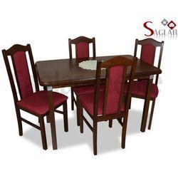 Zestaw COLORADO I 4 krzesła i stół 70x120/150