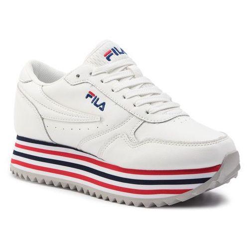 Sneakersy FILA Orbit Zeppa Stripe Wmn 1010667.02P WhiteStripe