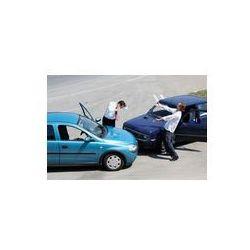 Foto naklejka samoprzylepna 100 x 100 cm - Wypadków drogowych i kierowców walki
