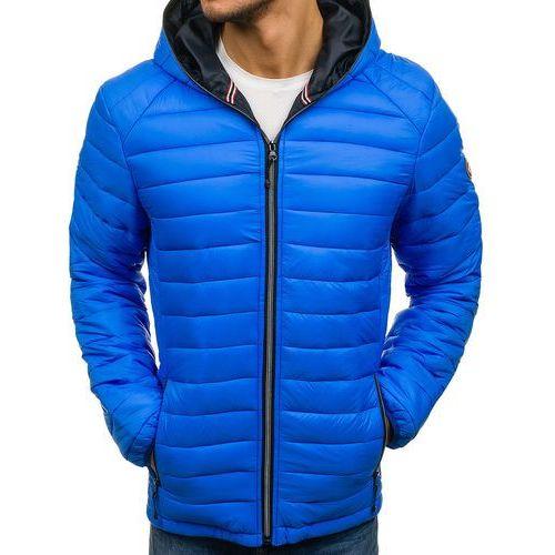 7579e6d72480c Kurtka męska zimowa sportowa niebieska Denley 1116 - porównaj zanim ...