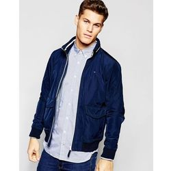 Tommy Hilfiger Lightweight Jacket With Zip Up Hood - Navy