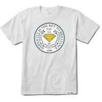 koszulka DIAMOND - Stamp Of Approval Tee White (WHT)