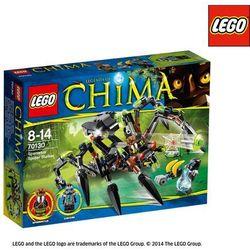 Lego CHIMA Legends of pajęczy ścigacz sparratusa 70130