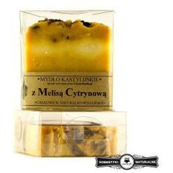 Mydło kastylijskie z melisą cytrynową - Czyste mydło