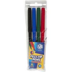 Flamastry pisaki mazaki ASTRA 4 kolory