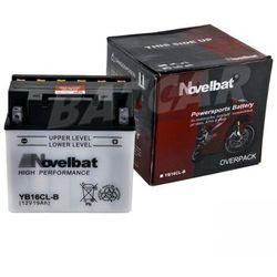 Akumulator motocyklowy Novelbat YB16CL-B 12V 19Ah 230A (EN)