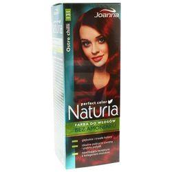 Joanna Naturia Perfect Color Farba do włosów bez amoniaku Ostre Chilli nr 131
