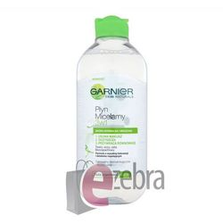 Garnier Essentials Płyn micelarny do cery normalnej i mieszanej 3w1 400ml