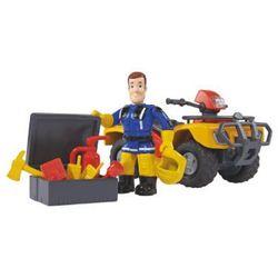 SIMBA Strażak Sam - Quad Mercury z figurką strażaka