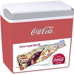Lodówka turystyczna, samochodowa, pasywna Ezetil Sun&Fun 25 IML CocaCola Mirabelle 523900, 24 l, Czerwony, Biały