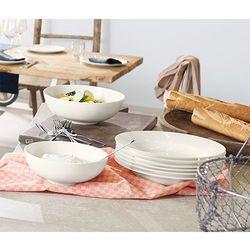 Serwis stołowy z porcelany Bone China