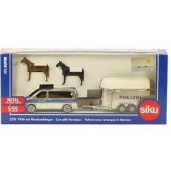 Model SIKU Samochód policyjny do przewożenia koni