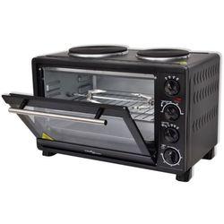 vidaXL Mini piekarnik czarny z dodatkami, 30 L 3100 W Darmowa wysyłka i zwroty