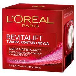 LOREAL Paris 50ml Revitalift Krem napinający przeciwzmarszczkowy i uję