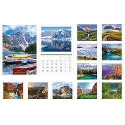 Kalendarz 2016 13 planszowy A3 Góry świata