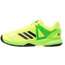 adidas Performance COURT STABIL Obuwie do piłki ręcznej solar yellow/core black/solar green
