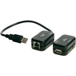 Przedłużacz, extender Digitus DA-70139-1, USB 1.1 po kablu sieciowym, do 60 m