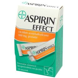 Aspirin Effect granulat 0,5 g 10 sasz.