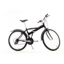 Aluminiowy rower składany SKŁADAK MIFA 26 cali, 21-biegów SHIMANO czarny