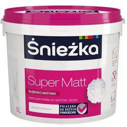 Farba Super mat 5l Śnieżka
