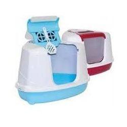 YARRO Toaleta narożna kolor Mix - turkus | Darmowa dostawa - YARRO Toaleta narożna kolor Mix - turkusowy