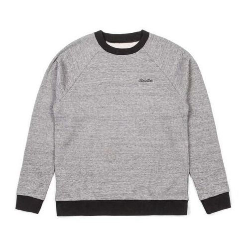 bluza BRIXTON - Trevor Heather Grey/Black (HTGBK) rozmiar: XL