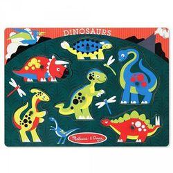 Melissa & Doug Drewniane Puzzle Dinozaury