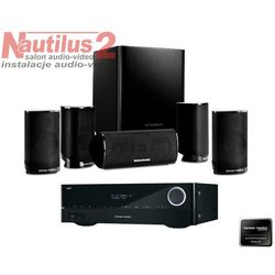 HARMAN KARDON AVR 161S + HKTS 9 + HDMI 150 Pure Acoustics GRATIS! - Dostawa 0zł! - Damowy kredyt w Sygma bank!